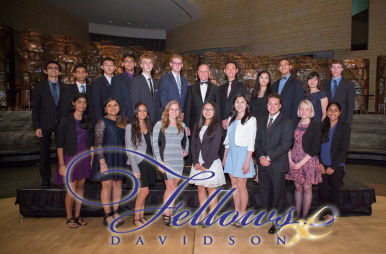 A group photo of the 2015 Davidson Fellows